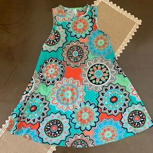 Cute and Colorful Shift Dress